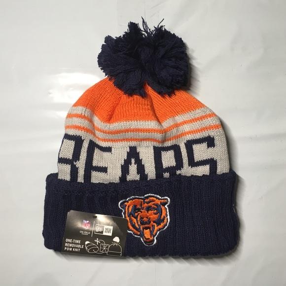 premium selection 59765 edb81 Chicago Bears Beanie Hat